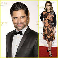 john stamos & rita wilson: ella awards honor beach boys singer mike love!